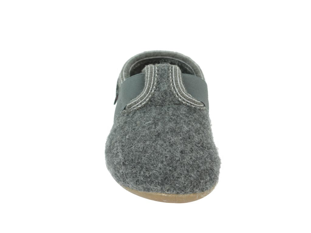 Haflinger Everest Children's slippers Jonas Anthracite
