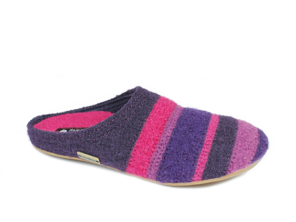 Haflinger Slippers Everest Prisma Lavender