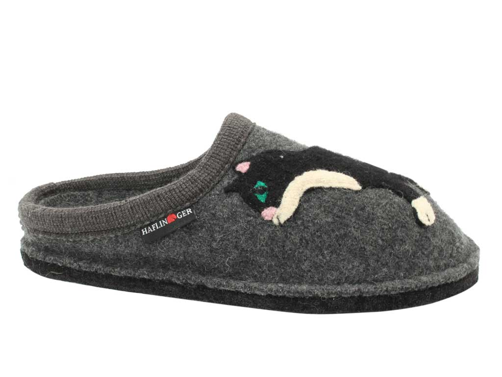 Haflinger Slippers Flair slippers Babsy Grey