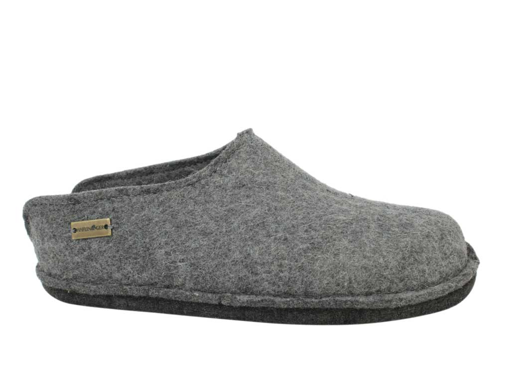 Haflinger Slippers Flair Smily Anthracite