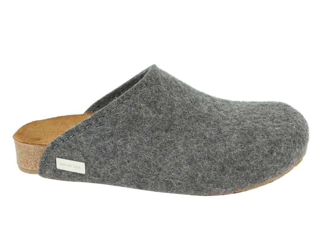 Haflinger Clogs Gio Anthracite