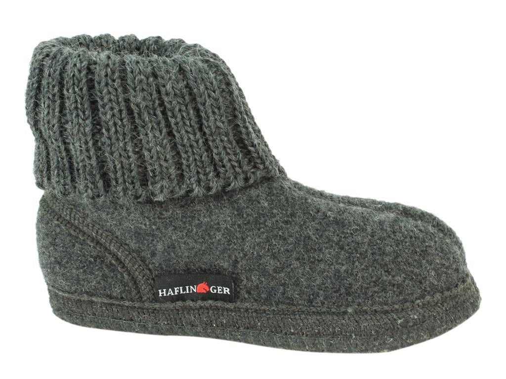 Haflinger Children's slippers Karl Anthracite