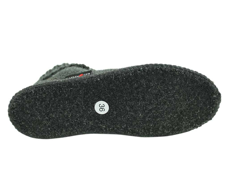 Haflinger Karl slippers Anthracite