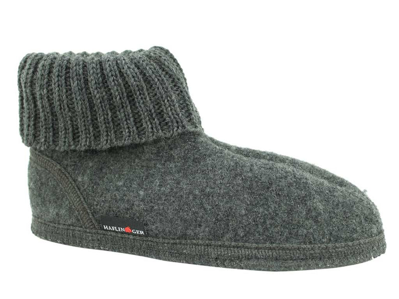Haflinger Slippers Karl Anthracite