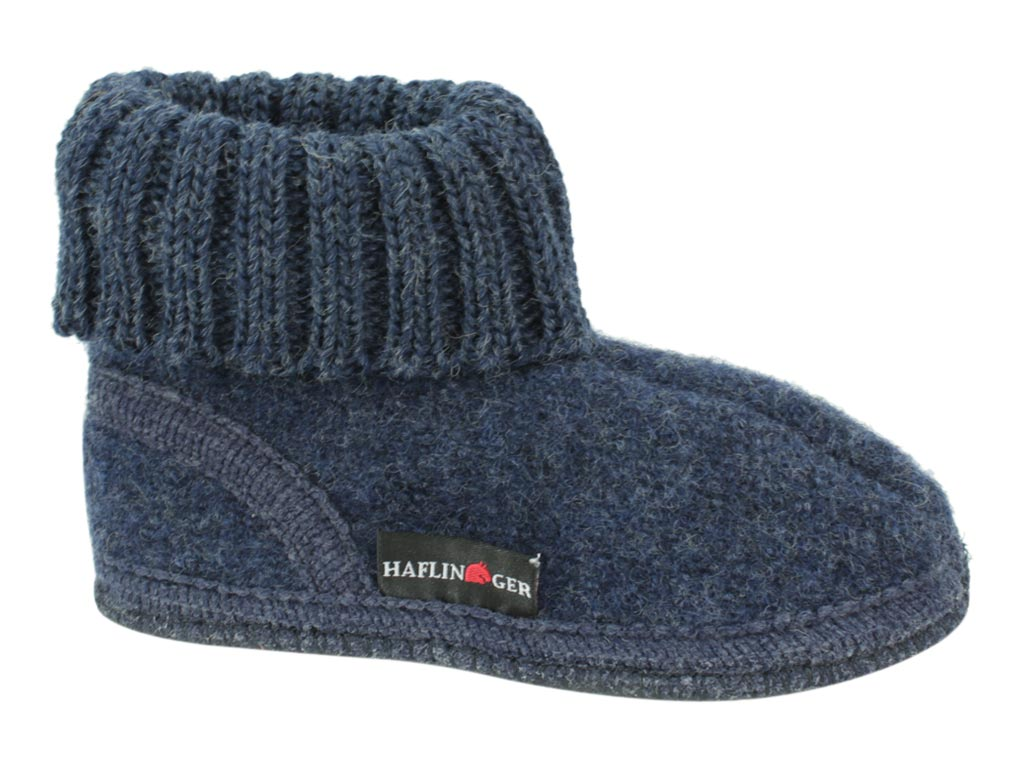 Haflinger Children's slippers Karl Jeans