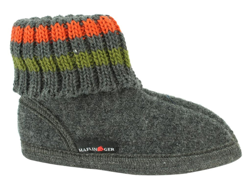 Haflinger Children's slippers Paul Anthracite