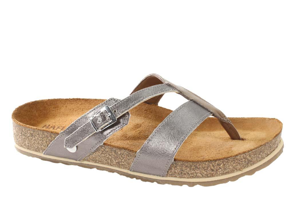Haflinger Sandals Clara Bronze side view