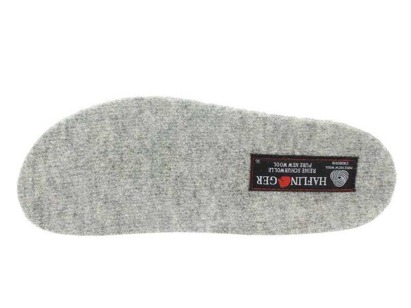 Haflinger Slippers Charlie Cat insole view