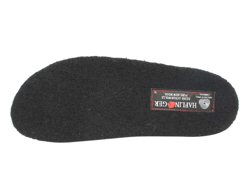 Haflinger Slippers Charlie Olivia insole view