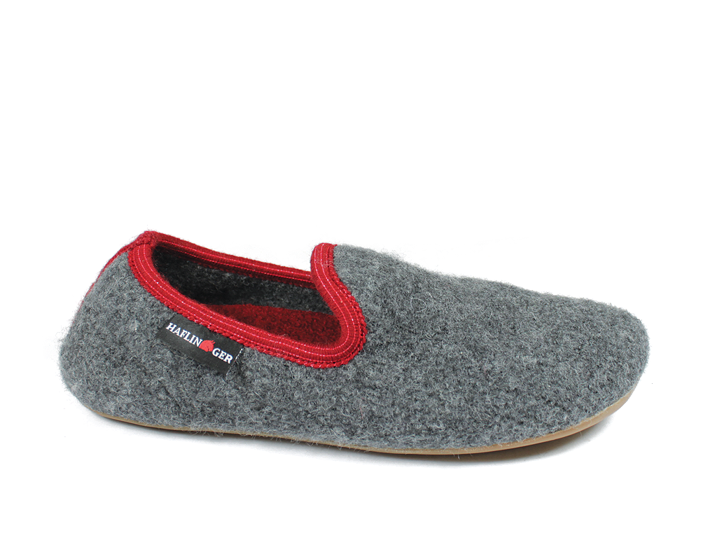 Haflinger Everest Charlie Anthracite Slippers