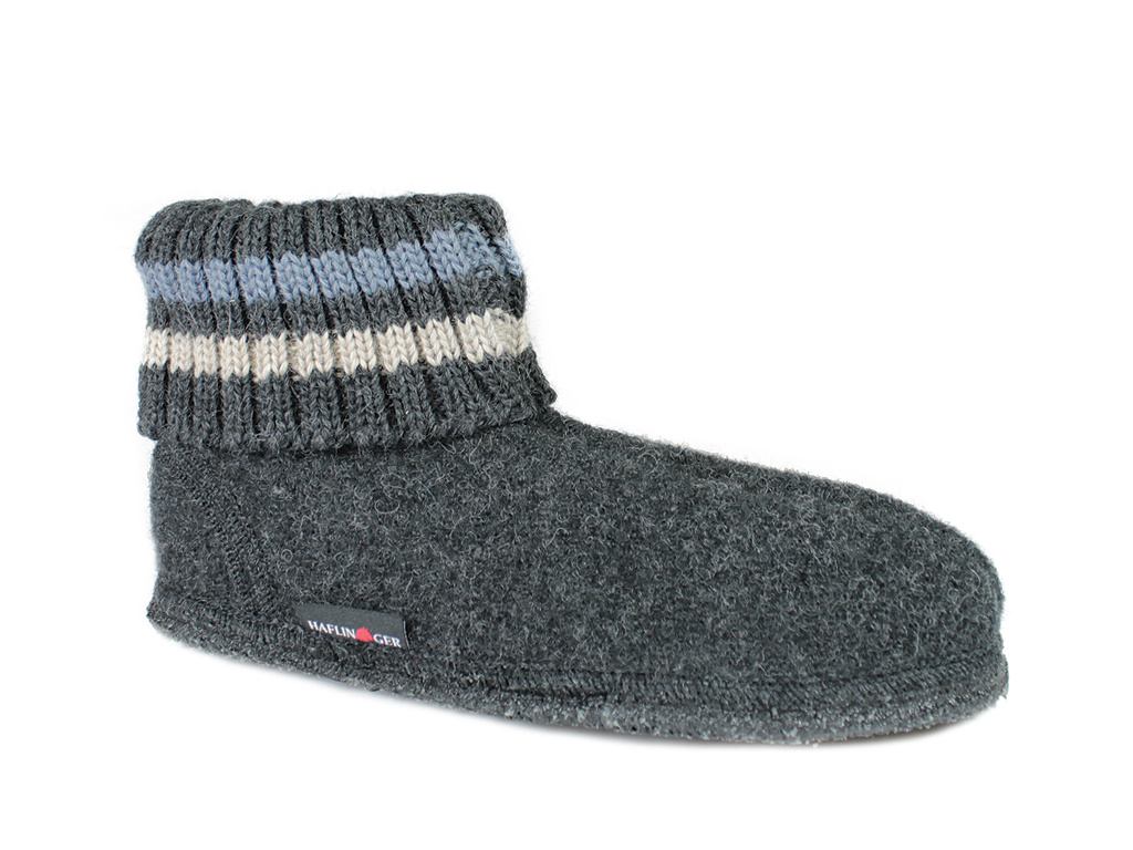 Haflinger Paul Slippers Graphite