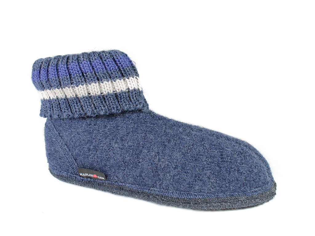 Haflinger Paul Slippers Jeans