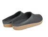 Haflinger Grizzly Torben Felt Clogs Black