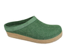 Haflinger Grizzly Torben Felt Clogs Eibe Forest Green