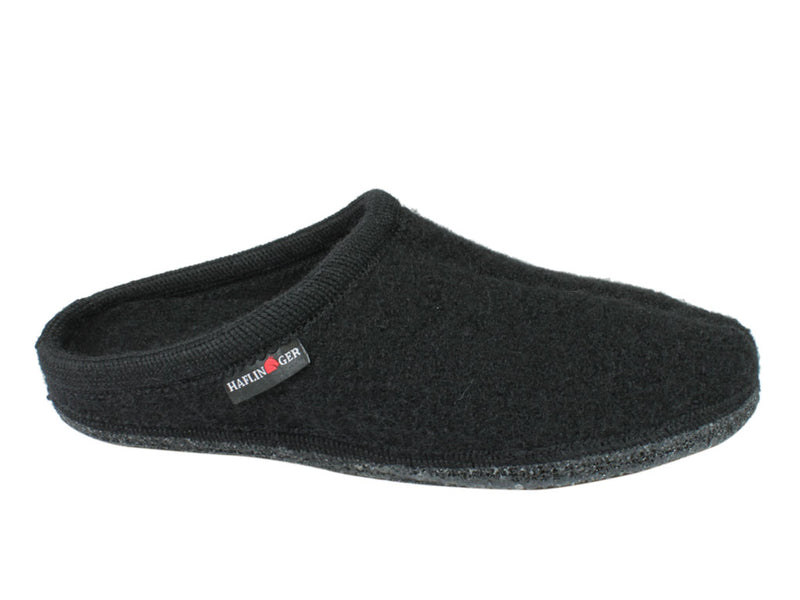 Haflinger Slippers Alaska Black