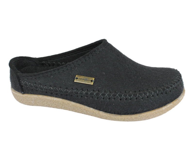 Haflinger Slippers Blizzard Credo Black