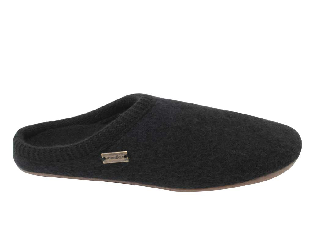 Haflinger Slippers Everest Classic Black