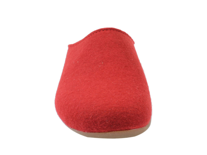 Haflinger Slippers Everest Fundus Red