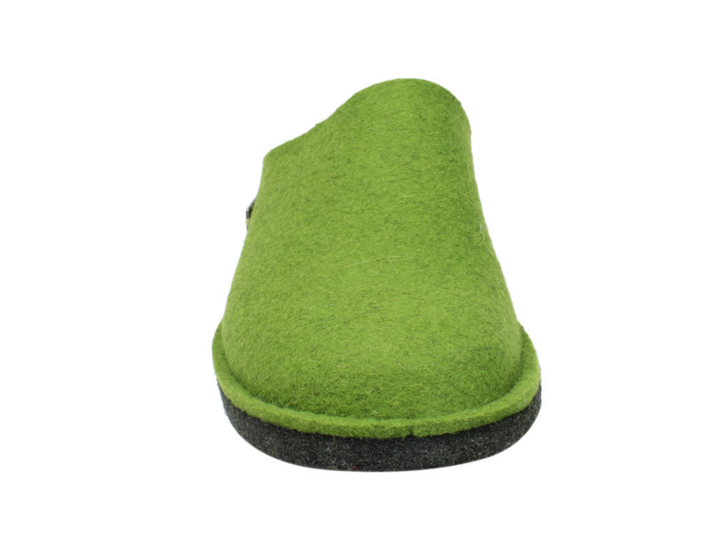 Haflinger Flair Soft slippers Green