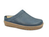 Haflinger Leather Clogs Travel Navy