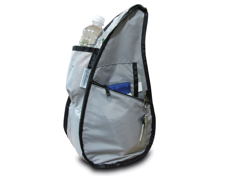 Healthy Back Bag Textured Nylon Forest - Medium inside view