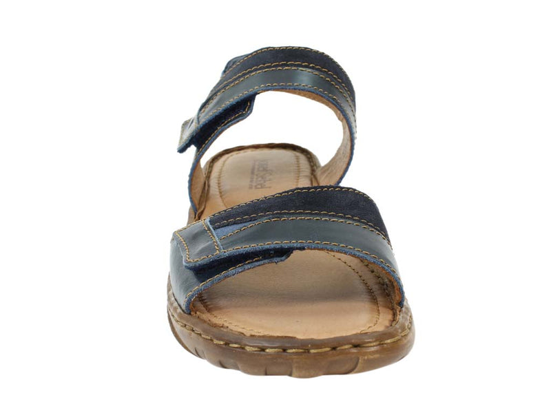 Josef Seibel Sandals Debra 19 Denim front view
