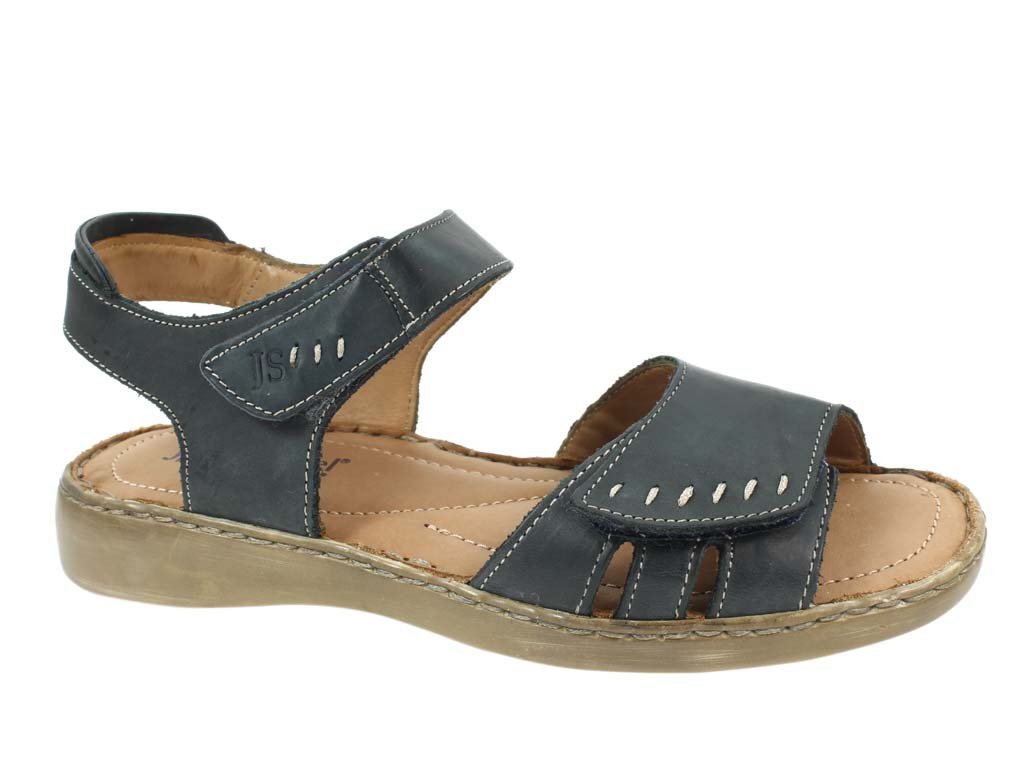 Josef Seibel Sandals Lisa 01 River Blue side view