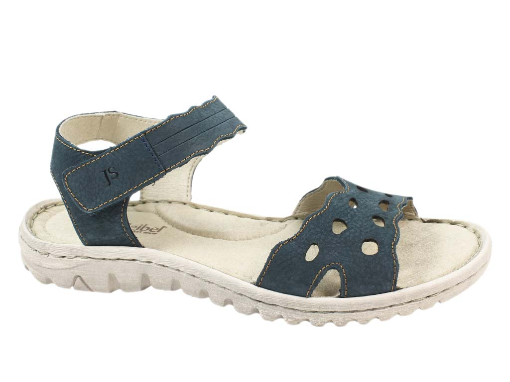 Josef Seibel Sandals Lucia 07 Blue side view