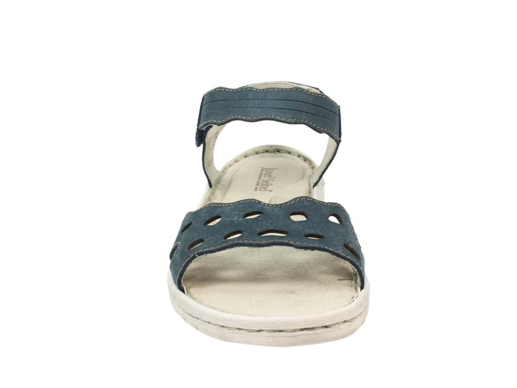 Josef Seibel Sandals Lucia 07 Blue front view