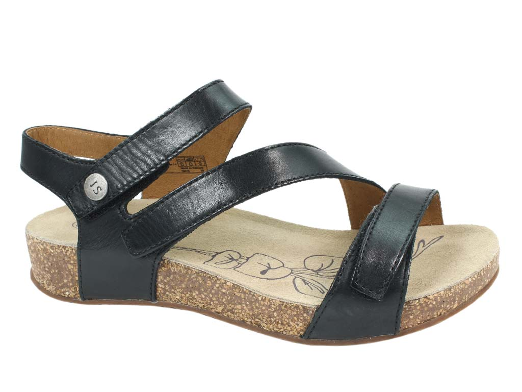 Josef Seibel Sandals Tonga 25 Black side view