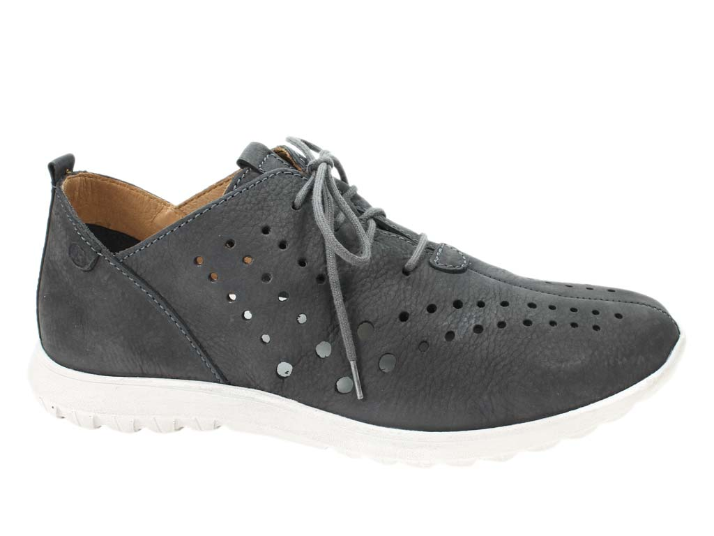 Josef Seibel Shoes Malene 09 Titan Grey side view