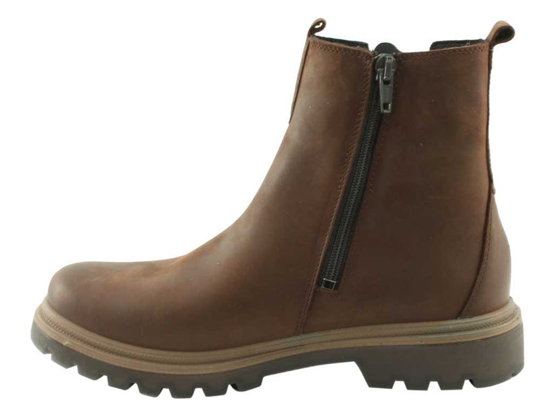 Legero Boots Monta 09663-31 Maya Brown side view