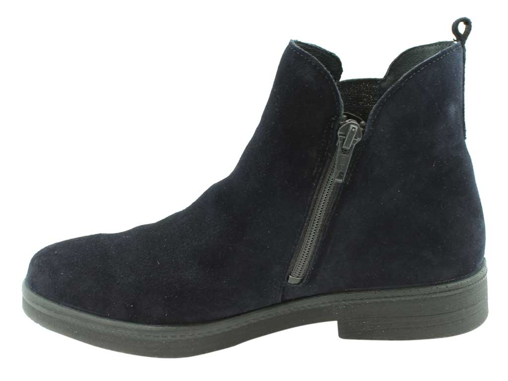Legero Boots Soana 00684-83 Ocean side view