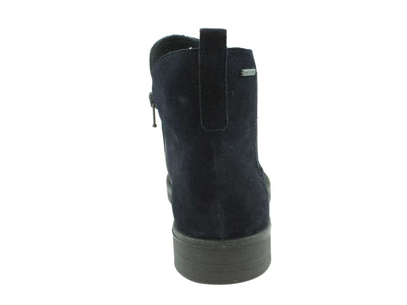 Legero Boots Soana 00684-83 Ocean back view