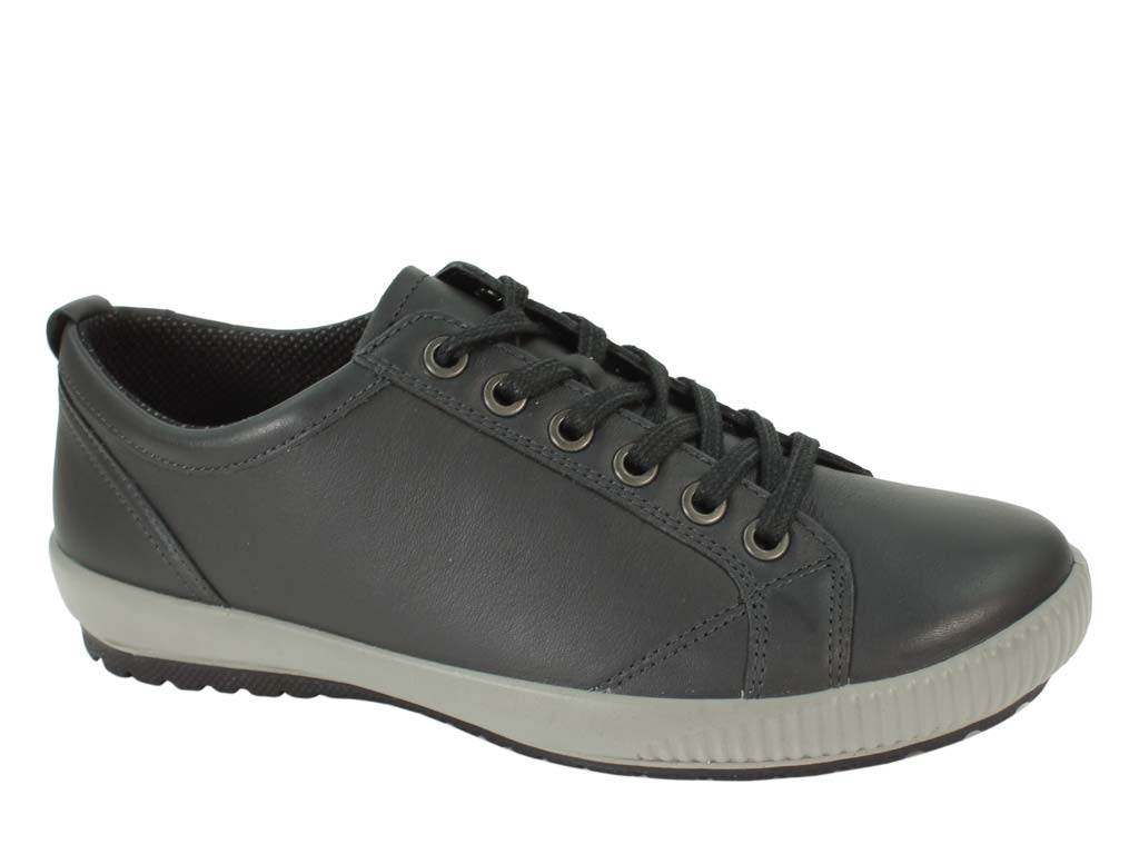 Legero Tanaro  women trainer in black side view