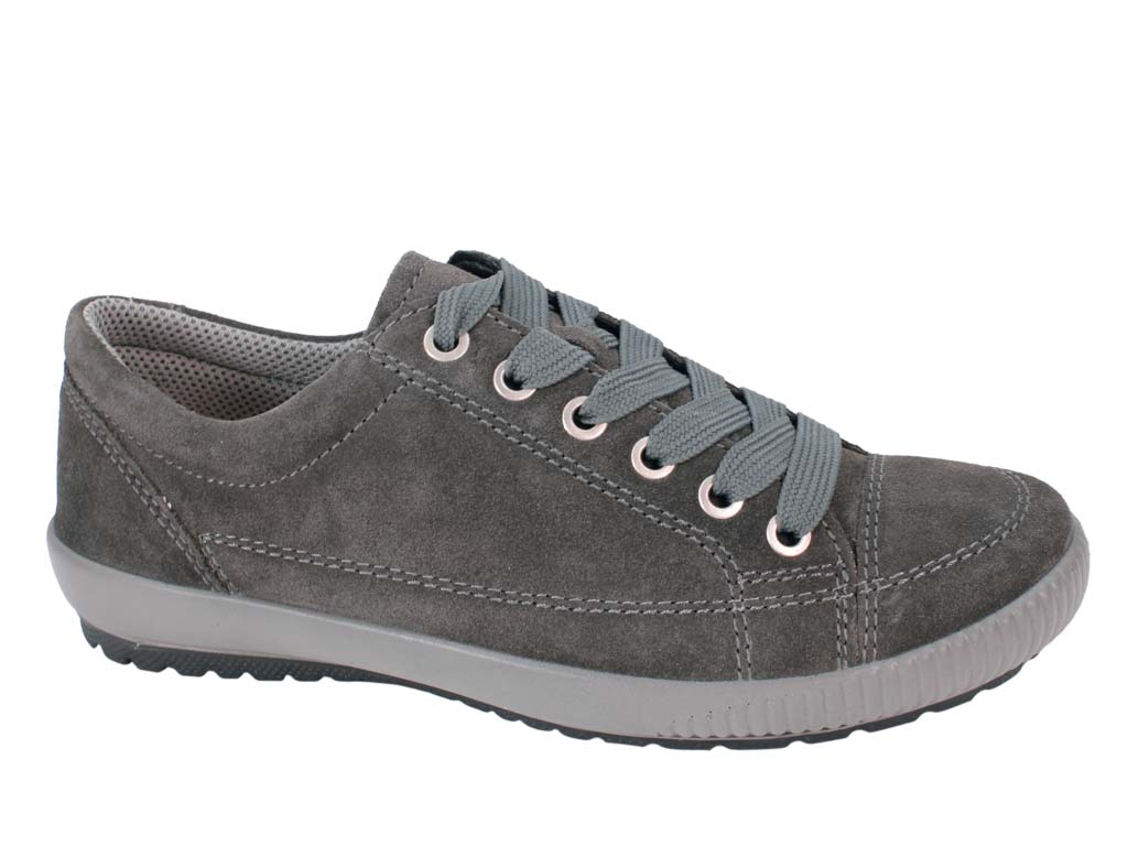 Legero Tanaro Trainer Shoe Ossido Grey Right Side