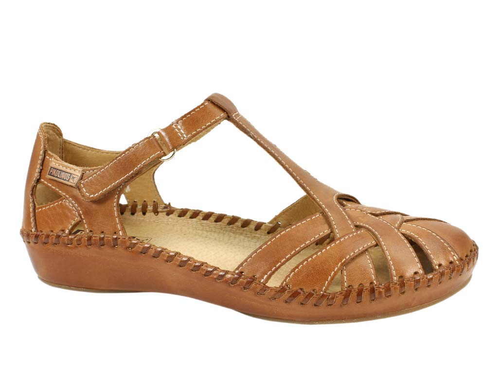 Pikolinos Sandals Vallarta 655-0732C1 Brandy side view