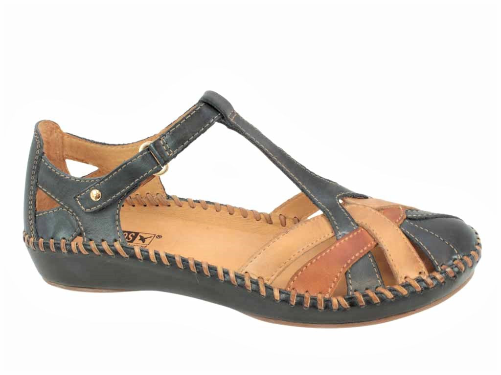 Pikolinos Sandals Vallarta 655-0732C5 Navy side view