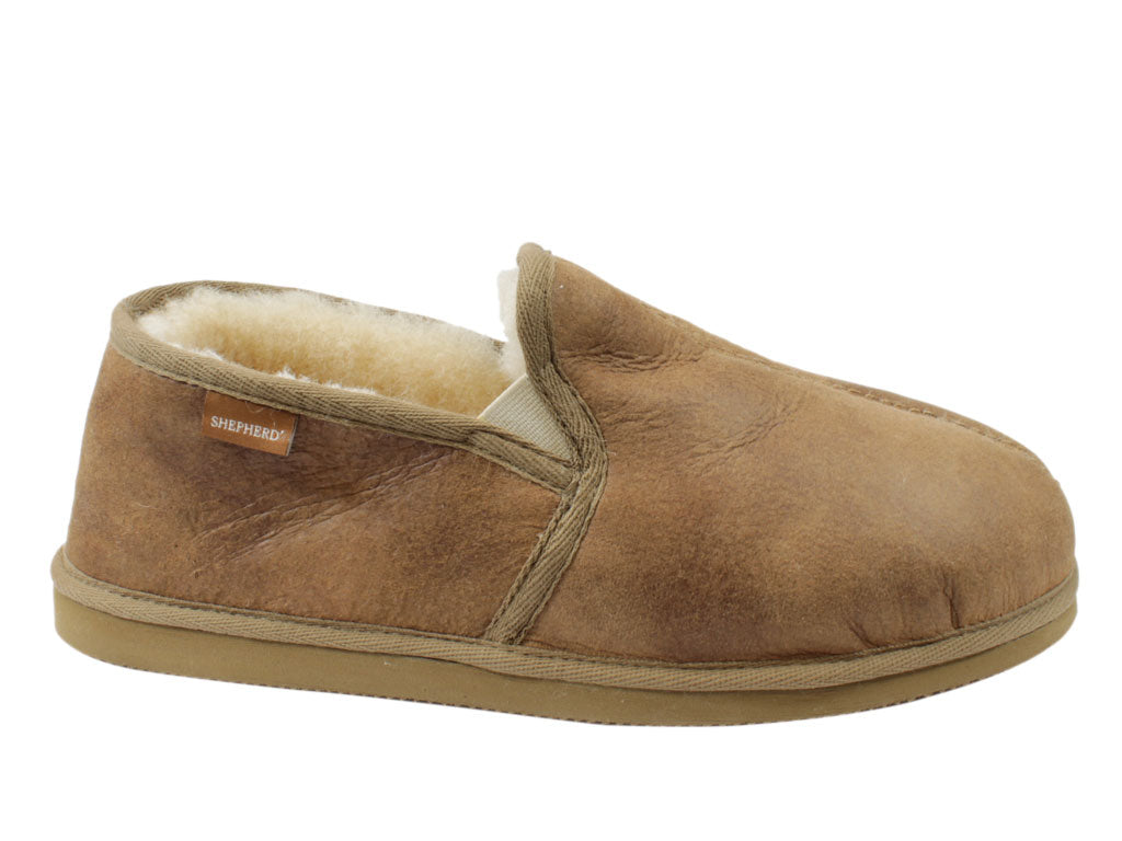 Shepherd Bosse Sheepskin Antique/Cognac 450-52