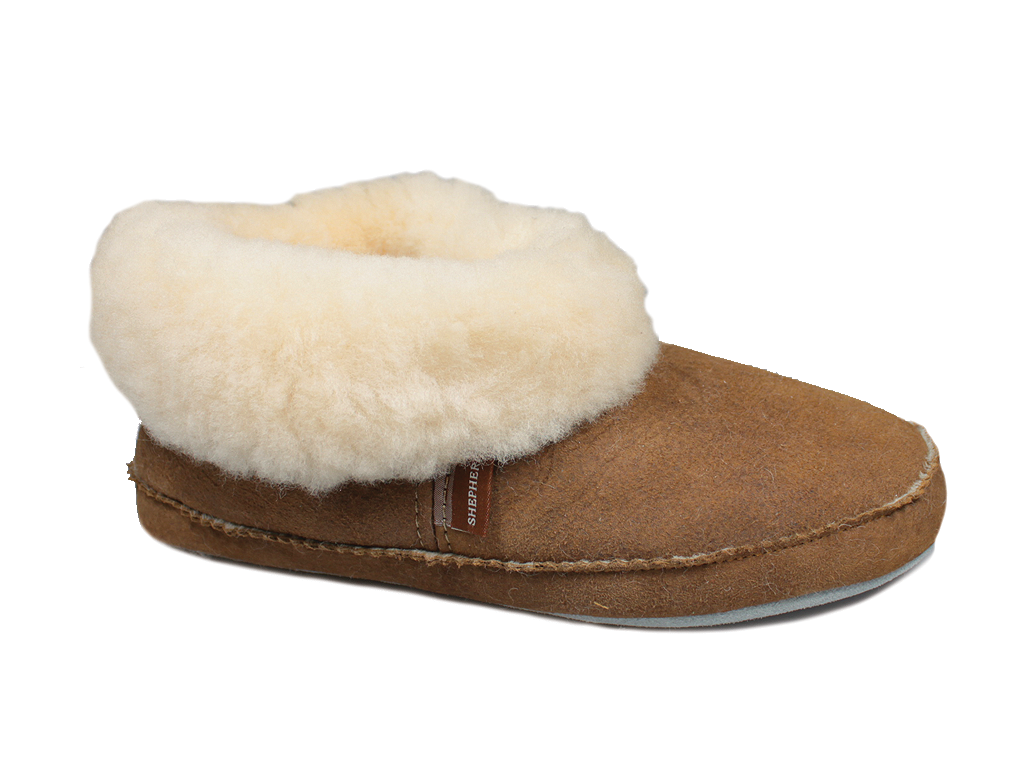 Shepherd Emmy Sheepskin Slippers Chestnut 924-56