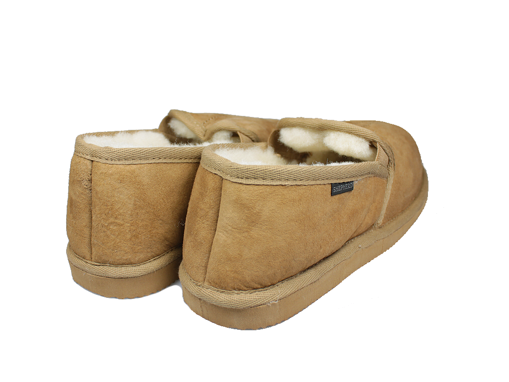 Shepherd Bosse Sheepskin Slippers Camel 450-55