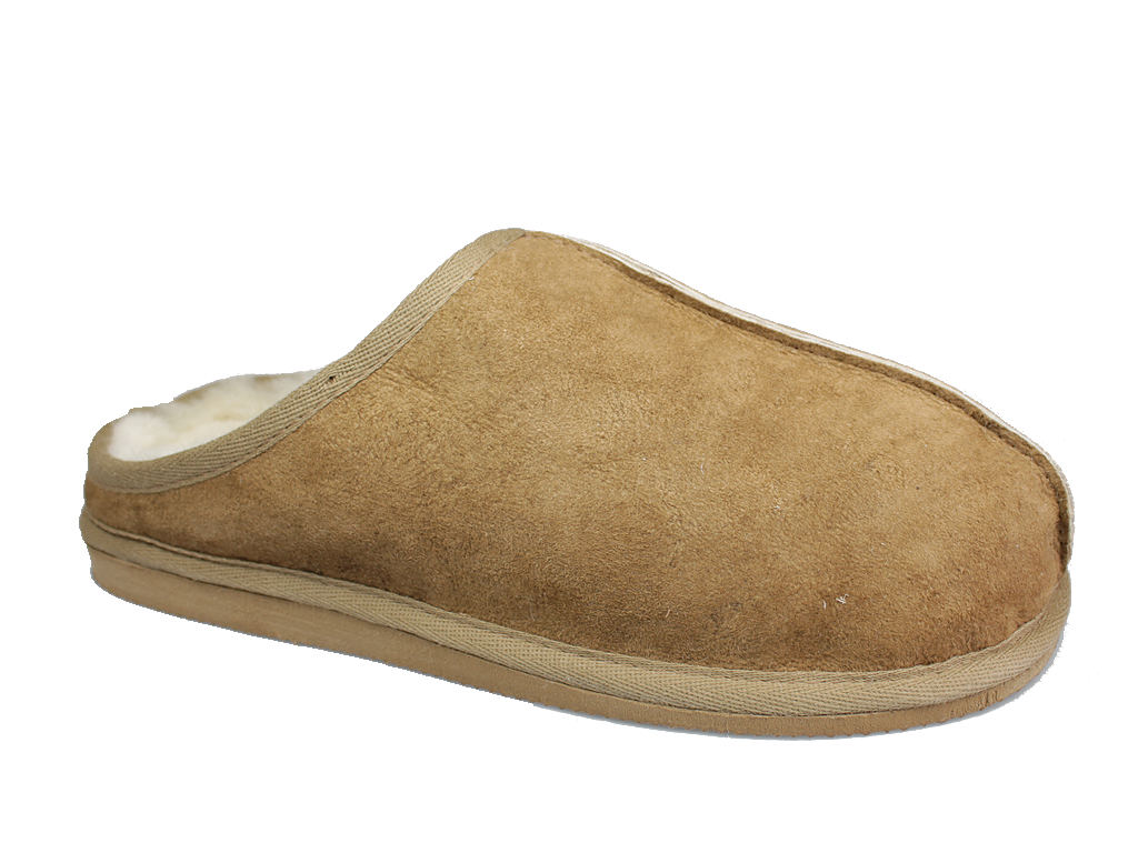 Shepherd Finn Sheepskin Slippers Camel 955-55