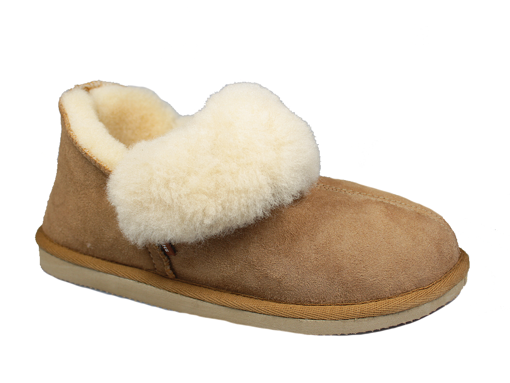 Shepherd Karin Slippers Chestnut 464-56