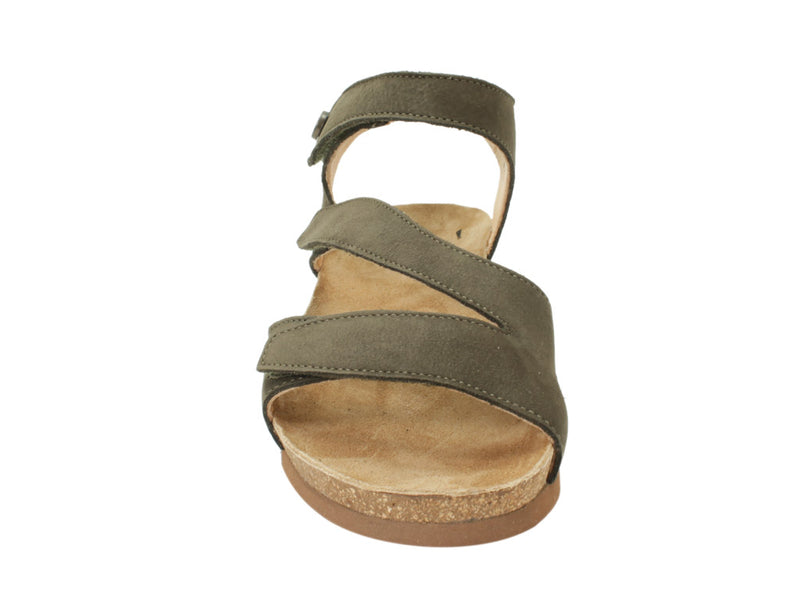 Think Sandals Dumia 86371-62 Olive front view