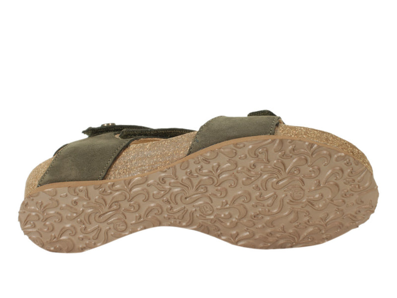 Think Sandals Dumia 86371-62 Olive sole view