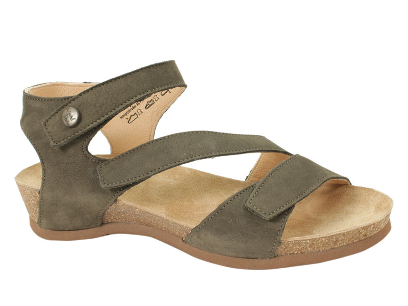 Think Sandals Dumia 86371-62 Olive side view