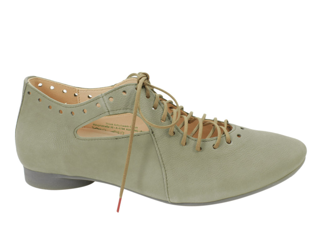 Think Shoes Guad Salvia Green side view