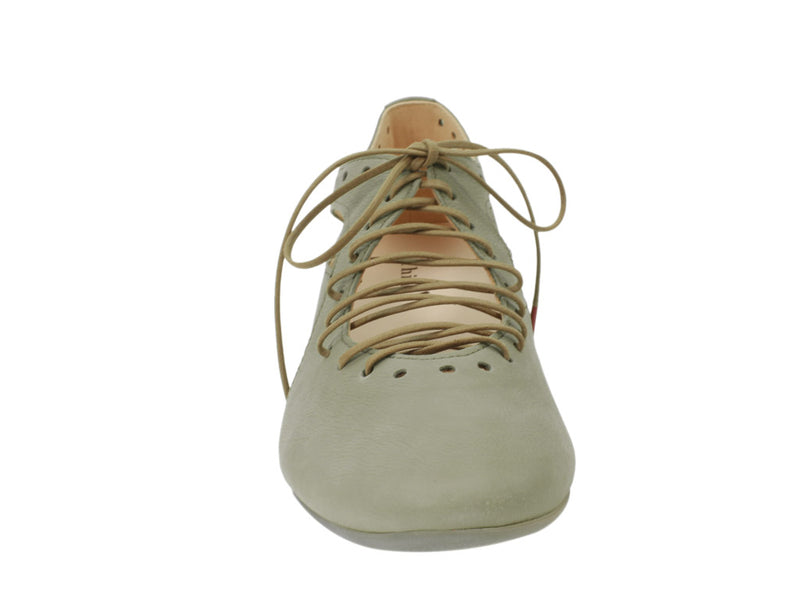 Think Shoes Guad Salvia Green front view