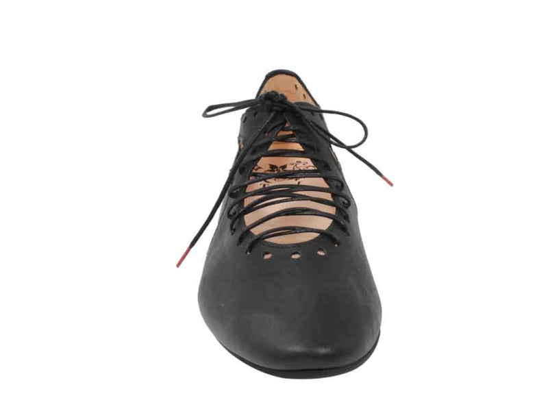 Think Women Shoes Guad 86284-00 Black front view