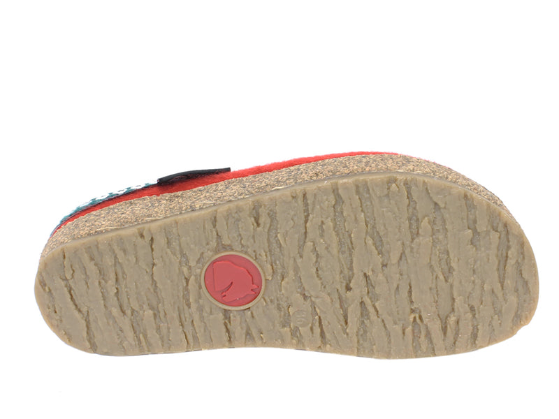 Haflinger Clogs Grizzly Franzl Rubin sole view